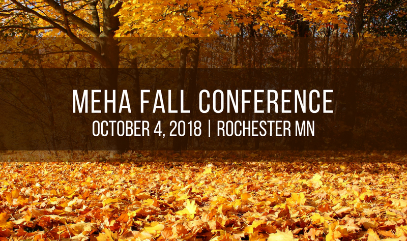 MEHA/MAHCO Fall Conference: October 4, 2018