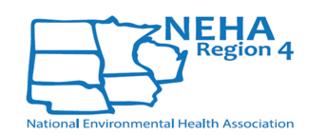 NEHA Region 4 Logo